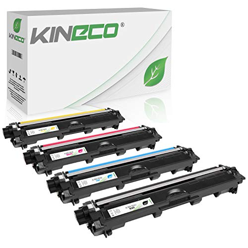 Kineco 4 Toner - Schwarz 2.500 Seiten, Color je 2.200 Seiten -