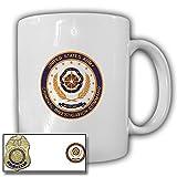 Tasse USACIDC United States Army Criminal Investigation Command CID Abzeichen Agent Kriminaldienstmarke US#21679