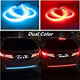 #10: Ramanta™ Flow Led Strip Trunk/Dicky/Boot/Tail Lights Streamer Brake Turn Signal Light for Maruti Baleno
