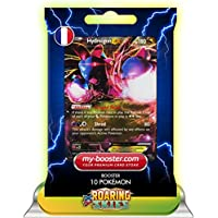 HYDREIGON EX 62/108 180HP XY06 ROARING SKIES - Optimized THUNDERBOLT booster cards - 10 English Pokemon trading cards