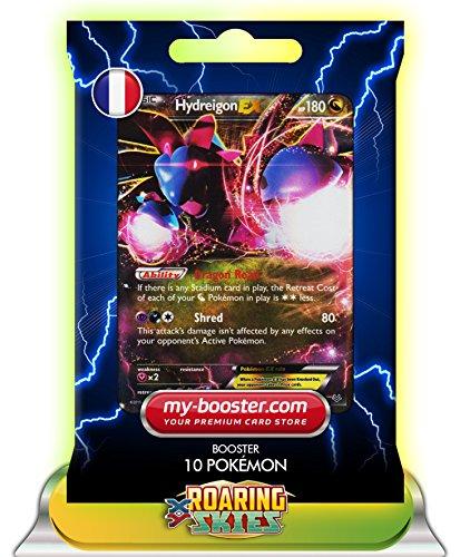 Hydreigon EX (trioxhydre) 62/108180hp XY06Roaring Skies (Himmel Brüllender)-Booster-10Karten Pokemon englischen my-booster