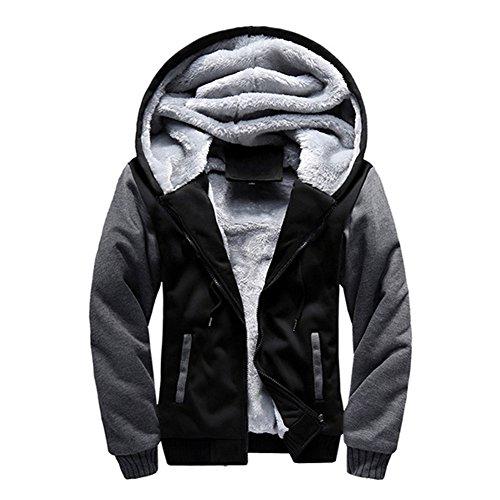 Pullover Uomo Felpa con cappuccio Cappotto caldo Maglione Moderno Attrezzature con cappuccio abbigliamento sportivo Costume di panno M-4XL Kootk
