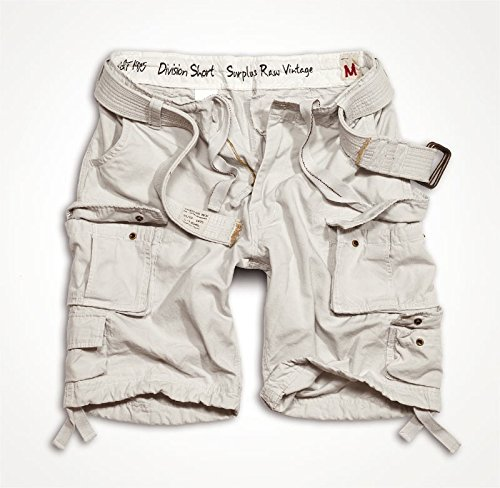 Trooper Division Shorts White-Off