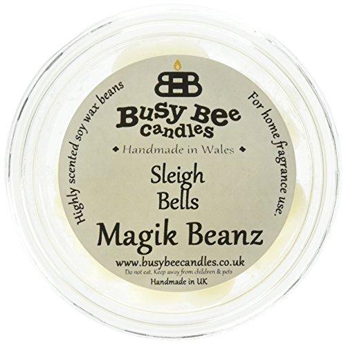 Scheda dettagliata Busy Bee Candles Sleigh Bells Magik Beanz, Colore: Bianco, Confezione da 6