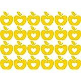 Lovely Fancy Set der Liebe Äpfel Herzen Ornament (43cm x 60cm) wählen Sie Farbe 18Farben auf Lager Badezimmer, Childs Schlafzimmer, Kinder Zimmer Aufkleber, Auto Vinyl-, Windows und Wandtattoo, Wall Windows Art, Decals, Ornament Vinyl Sticker ThatVinylPlace Gelb
