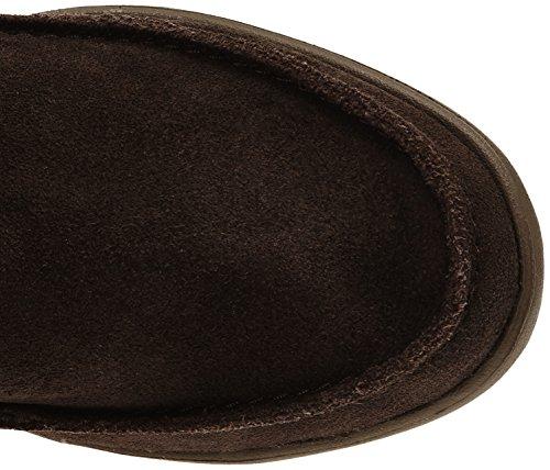 crocs Adela Suede Boot W Damen Stiefel & Stiefeletten Braun (Espresso/Walnut)