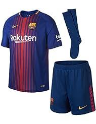 Nike FCB LK NK Brt Kit HM Shirt Trikot 1. Linie FC Barcelona, Blau (Deep Royal Blue/University Gold), XL