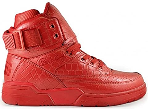 Ewing Athletics Ewing 33 HI Red Croc Skin Basketball Shoes Limited Edition