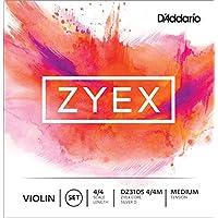 D'Addario Orchestral DZ310S Zyex 4/4 M - Juego de cuerdas violín