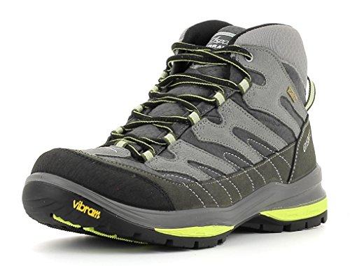 Grisport Unisex Schuhe Herren und Damen Terrain Mid Spotex Trekking- und Wanderstiefel, wasserdichte und atmungsaktive Spotex-Membran-Konstruktion Grau (V5), EU 46 Unisex-membran