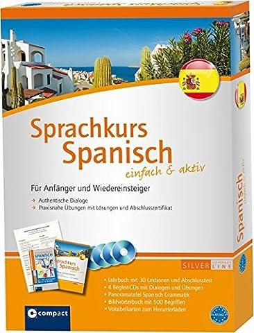 Compact Sprachkurs Spanisch einfach & aktiv: Set mit 2 Büchern,