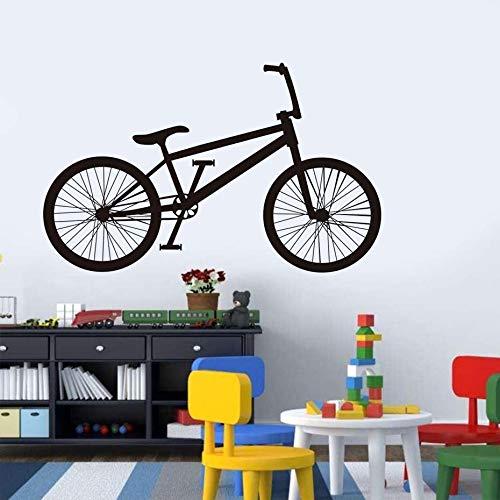 GUUTOP Kleine Rad Fahrrad wandtattoo DIY Fahrrad Kunst tapete Vinyl wandbild für kinderzimmer Dekoration zubehör 59 * 36 cm