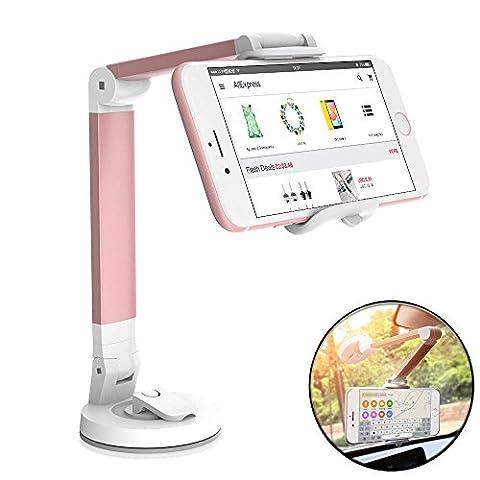 DouTree DouTree Elektronik Universal Smartphones Auto Lüftungshalterung Halterung für Telefon (Rose Red)
