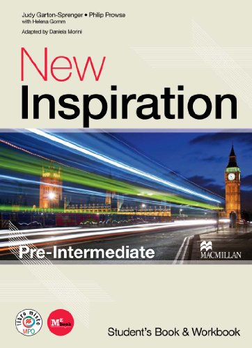 New inspiration. Pre-intermediate. Student's book-Workbook-Stay on the right track. Per le Scuole superiori! Con CD Audio. Con CD-ROM. Con espansione online