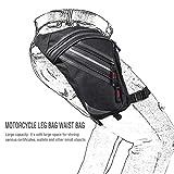 Hüfttaschen Leg Bag Hüfttasche Tactical Leinwand Motorrad Reiten Reiter Hüfttasche Wasserdichte...