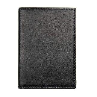 51njidRLCBL. SS324  - Bolsa de pasaporte de viaje Bolsa de documentos de cuero Soporte de pasaporte Bolsa de documentos Bolsa de billetes
