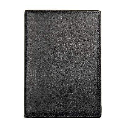 51njidRLCBL. SS416  - Bolsa de pasaporte de viaje Bolsa de documentos de cuero Soporte de pasaporte Bolsa de documentos Bolsa de billetes