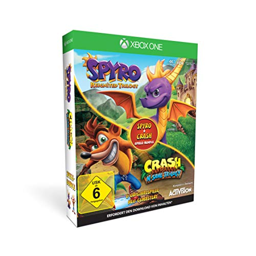 Spyro + Crash Remastered Spiele Bundle - Xbox One [Edizione: Germania]