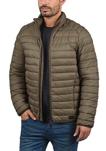 Blend Nils Herren Steppjacke Übergangsjacke Jacke Mit Stehkragen, Größe:S, Farbe:Mocca Brown (71508) - 3