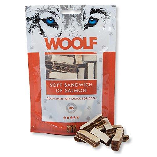 WOOLF Sandwich Lachs und Kabeljau 100gr - Snacks für Hunde