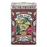 Dietro la porta DLP: Scatola Portaoggetti A caffè–caldo frontale–in metallo goffrato–valérie Nylin