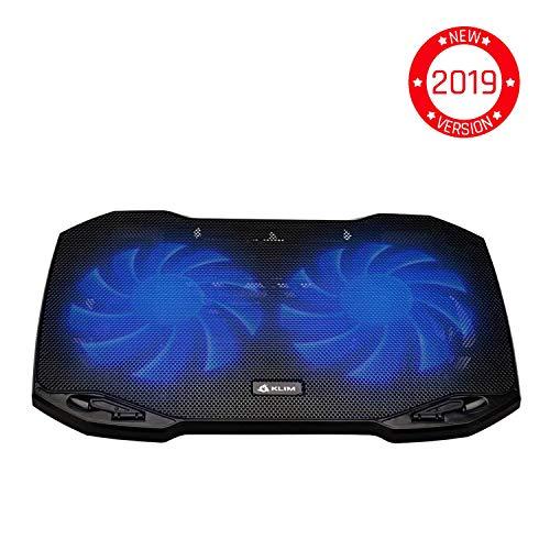 Klim Pro-Profi-Kühler-Laptop-Halterung-transportabel-10 bis 15,6 Zoll-exra USB-Port