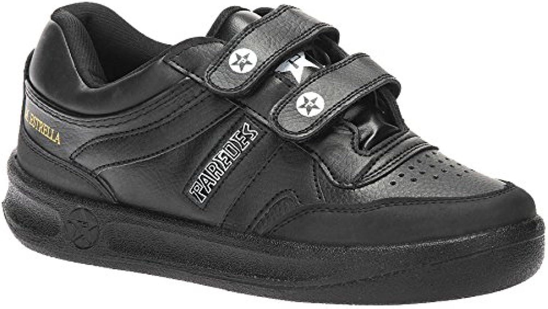 Paredes DP101 NE49 Estrella Klettverschluss Schuhe Arbeit O1 Größe 49 Schwarz