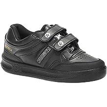 Paredes DP101 NE40 O1 Estrella - Zapatos de trabajo con cierre de velcro (talla 40