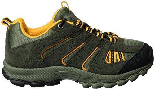 Columbia Childrens North Plains, Chaussures Multisport Outdoor Garçon Marron (Cypress/super Solarize 316)