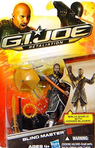 G.I. Joe Blind Master Ninja Shield with Hidden Blades - Retaliation - Actionfigur von Hasbro