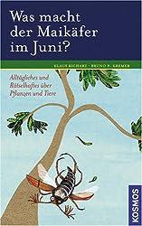 Was macht der Maikäfer im Juni?: Alltägliches und Rätselhaftes über Pflanzen und Tiere