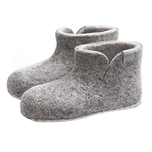 Kinder-filzschuhe Boots Grau - Schuhgröße 35
