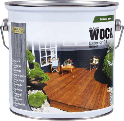 WOCA Exterior Öl, 2,5 L, anthrazit, 617963A