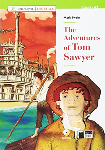 Green Apple - Life Skills: The Adventures of Tom Sawyer + CD