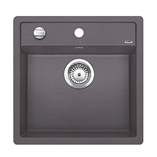 BLANCO DALAGO 5 - FREGADERO (TOP-MOUNT SINK  RECTANGULAR  GRIS  RECTANGULAR  445 X 350 MM)