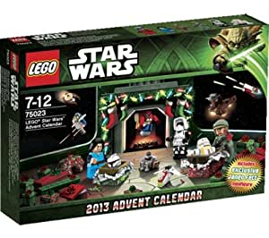 LEGO Star Wars - Advent Calendar (75023) -Count down the days to Christmas with this LEGO® Star Wars advent calendar! Each of the 24 windows opens to reveal a small gift, including spaceships, action figures and accessories.Step into a galaxy far, far away every day! (75023)
