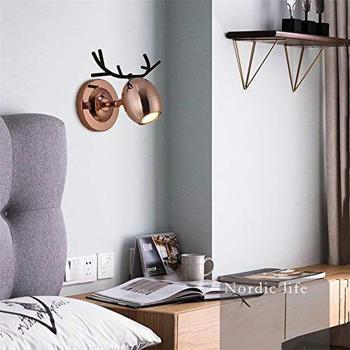 Industrieller Kunststil Moderne minimalistische led wandleuchte wohnzimmer lampe schlafzimmer nordic kreative restaurant lampe persönlichkeit geweih bar tisch esszimmer lampen Für Hallenpavillons - Lampe Viktorianische Tisch Lampe