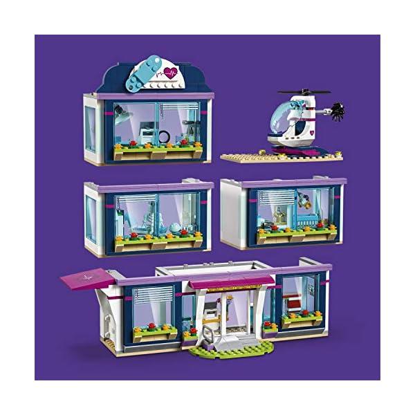 LEGO- Friends L'Ospedale di Heartlake, Multicolore, 41318 2 spesavip