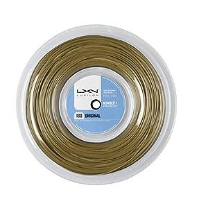 Luxilon Unisex Tennissaite Original 130, braun, 200 Meter Rolle, 1,30 mm, WRZ990900AMB