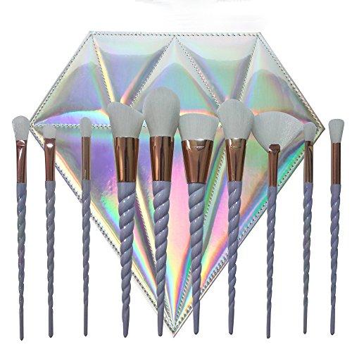cdcr-10pcs-unicorn-design-handle-shape-makeup-brushes-tools-set-white-hair-synthetic-foundation-brus