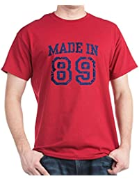 CafePress - Made In 89 - 100% Cotton T-Shirt