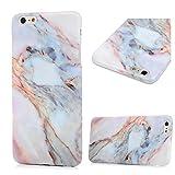 iPhone 6s Plus Marmor Hülle, KASOS Marble Handyhülle : Silikon Case Weich TPU Huelle mit IMD Technologie für iPhone 6 Plus, Jade Color