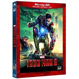 Iron Man 3 2D+3D (2 Dischi) [Standard] [Import italien]