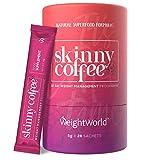 Skinny Coffee - 28 dagen gewichtsverlies programma van Arabische en Groene Koffie - Natuurlijke Keto Koffie Poeder voor een energieboost - 28x 5g