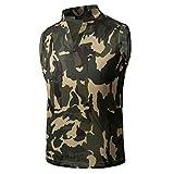 Kanpola Herren Tanktop Tank Top Sport Muskelshirt für Training Fitness Bluse Unterhemden Slim Fit T-Shirt Strand Sommer Ärmellos Shirt