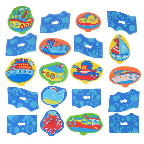 Aventura Marina parque infantil, 20 pieza de espuma Playset - Munchkin