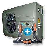 Wärmepumpe HPN 6, inklusive Bypass, Wassererwärmung, Qualität aus Europa, Poolheizung, Warmwasser, Wärmetauscher, Heizpumpe, Schwimmbecken, Pool
