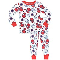 Spiderman Boys Spider-Man Pyjamas - Snuggle Fit - Ages 2 to 10 Years