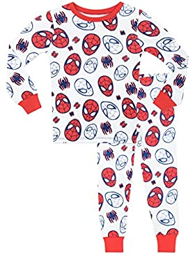 Spiderman Jungen Spider-Man Schlafanzug - Slim Fit