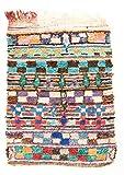 Trendcarpet Tappeto Berberi dal Marocco Boucherouite 205 x 135 cm
